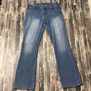 JL boot cut light wash jeans